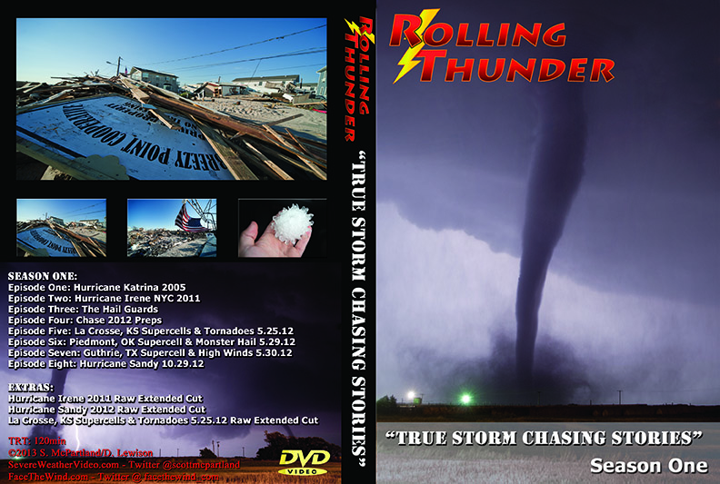 Storm Chaser DVD BluRay
