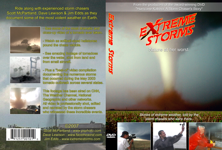 Extreme Storms DVD 2007 | Tornado Videos & Extreme Weather DVD